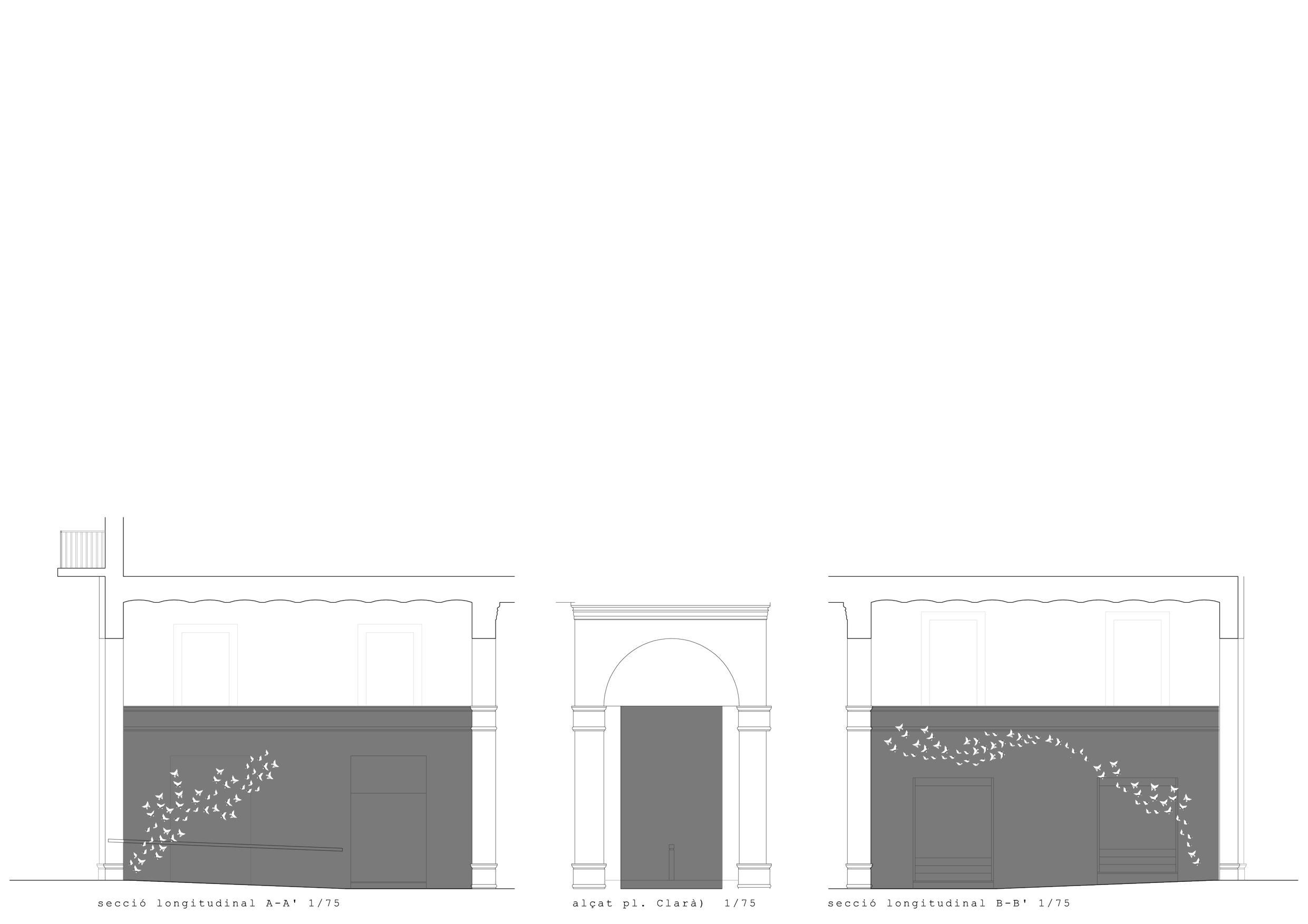 Interiors A2 Estudi. (del projecte)