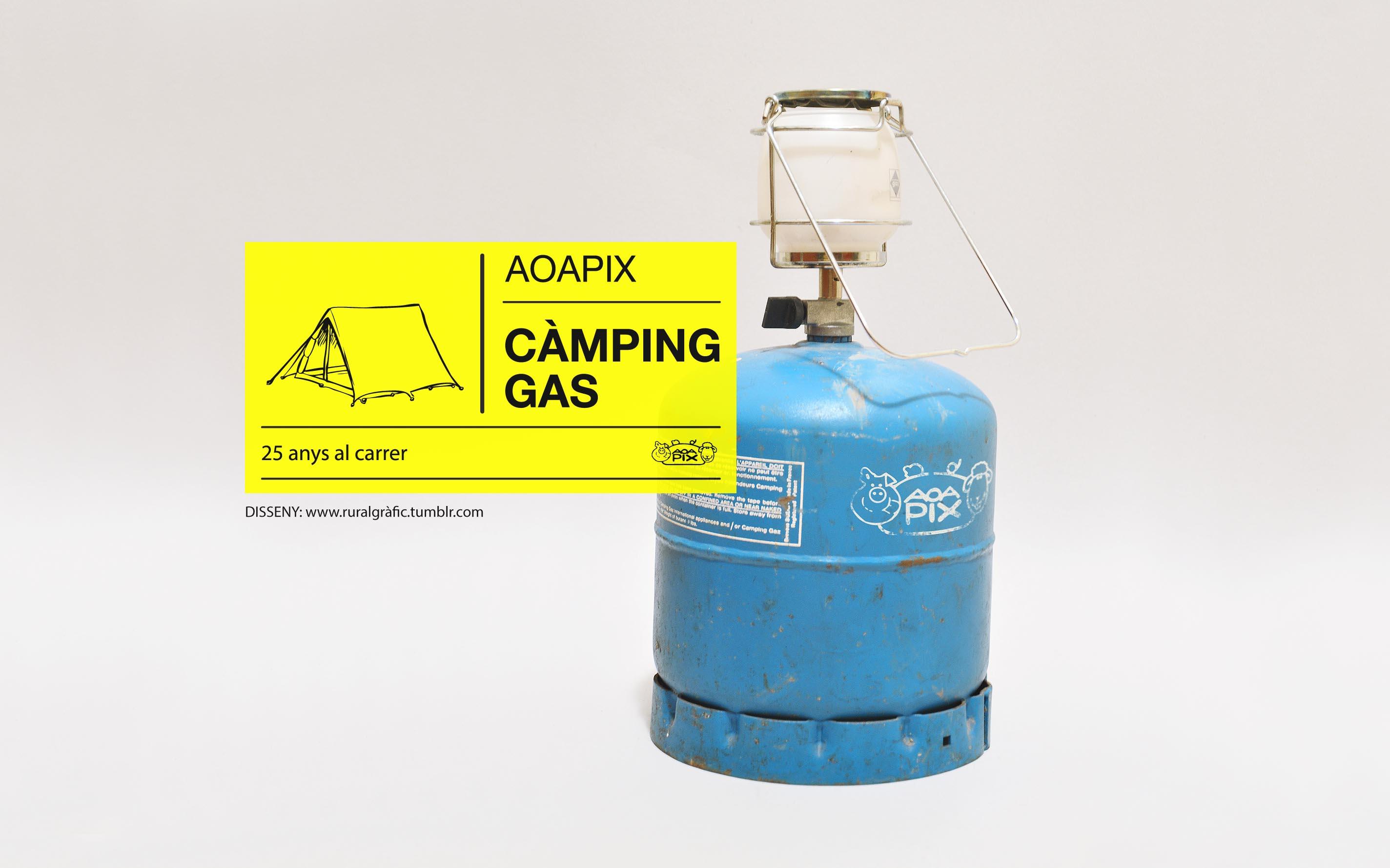 El càmping-gas de l'AOAPIX