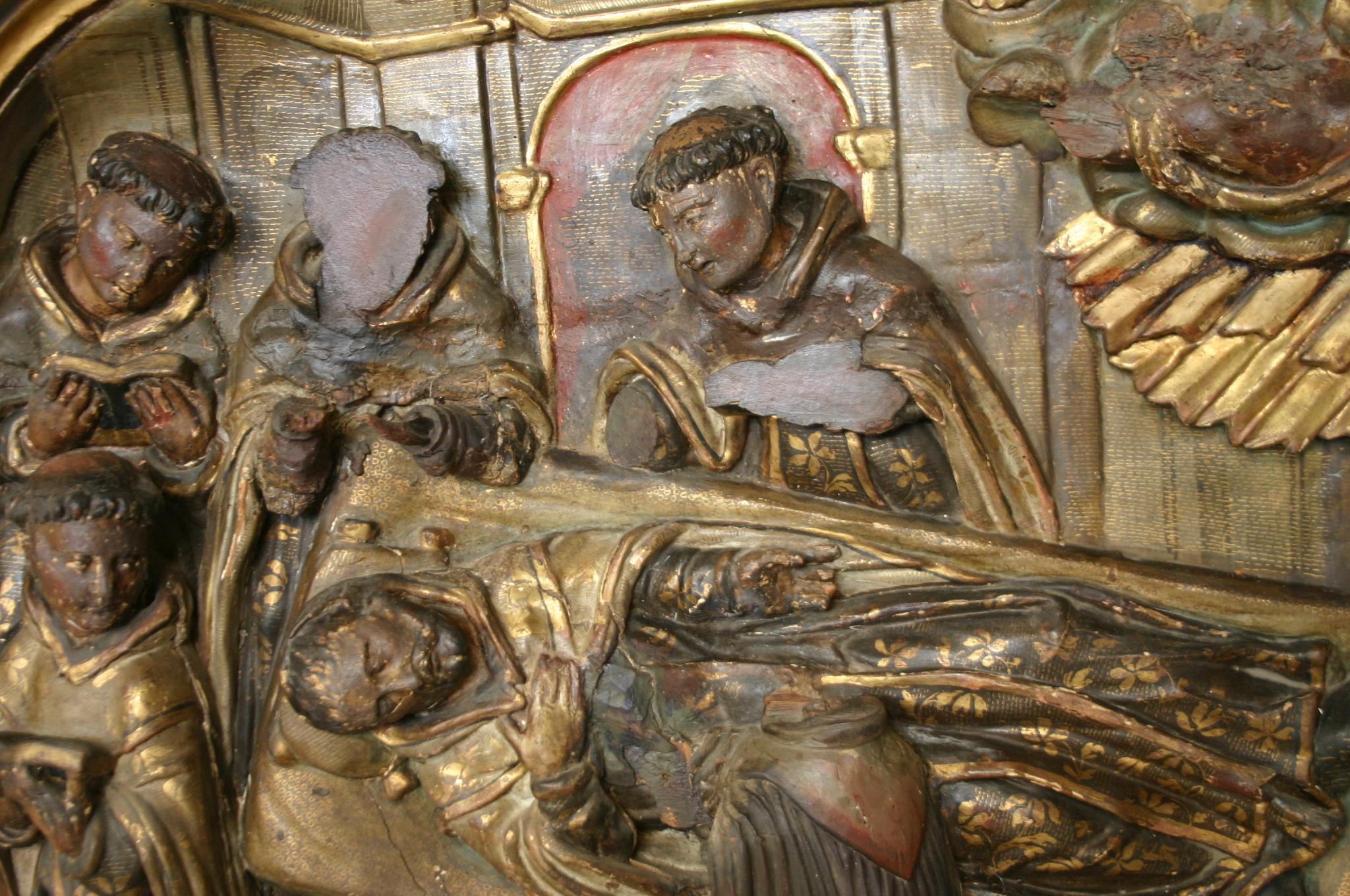 L'enterrament de Sant Franc