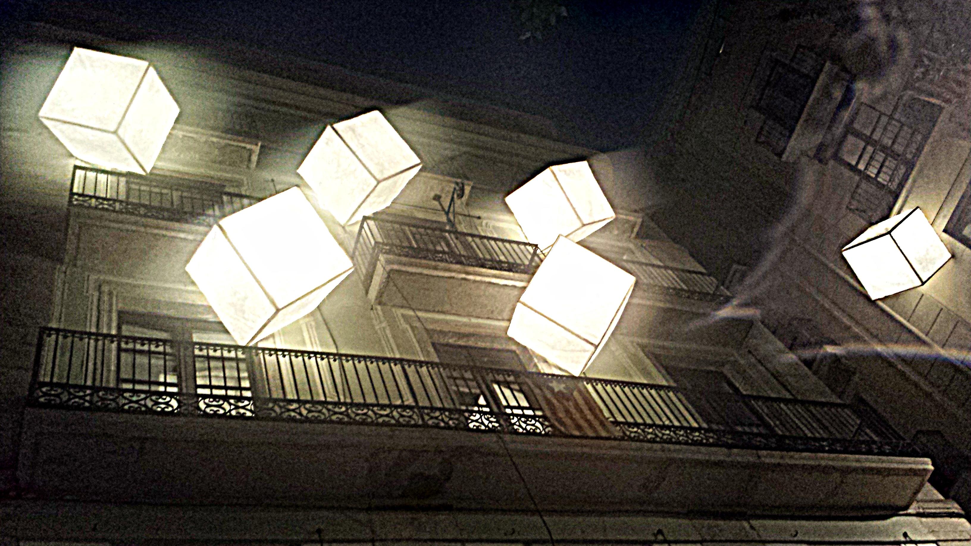 Els cubs de llum