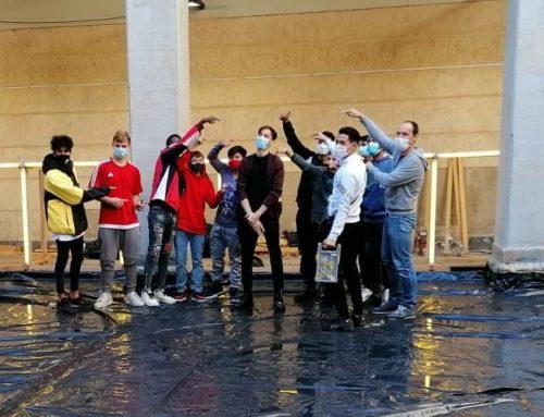 Els alumnes del  PFI PTT de la Garrotxa col·laboren amb Lluèrnia